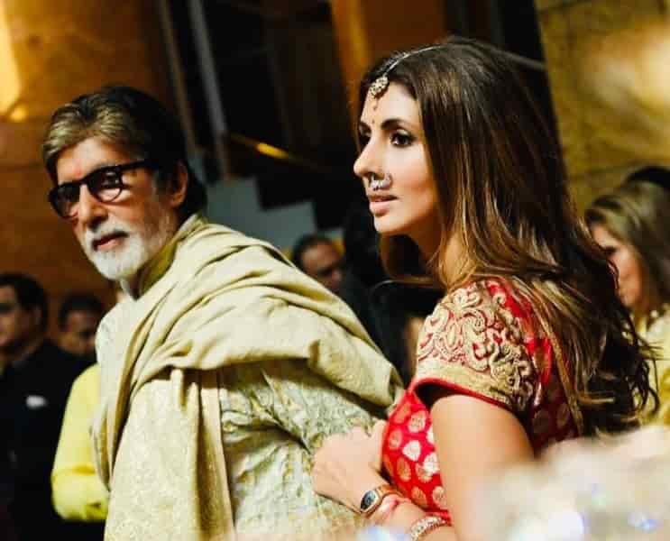 स्वेता बच्चन नंदा फिल्म, उम्र, परिवार, पति और जीवनी