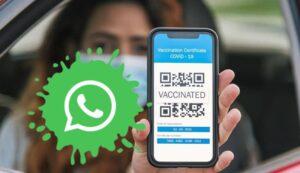 WhatsApp से कोरोना वैक्सीन का सर्टिफिकेट डाउनलोड कैसे करें